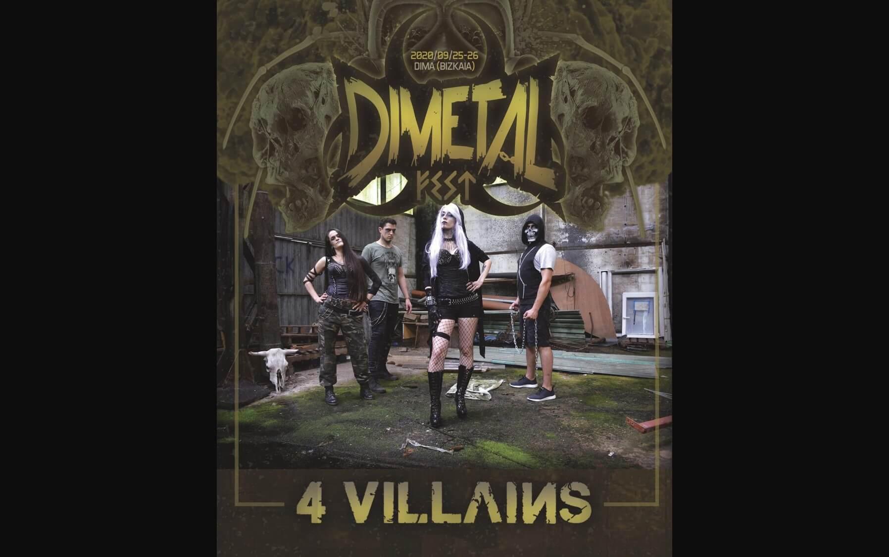 4Villains Confirmados para el Dimetal! 9